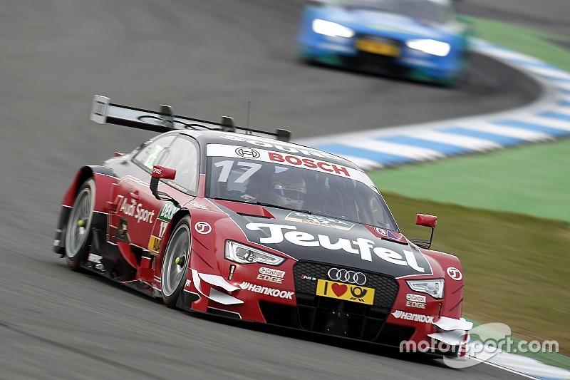 DTM Hockenheim: Molina wint, Mortara houdt zicht op titel