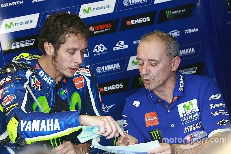 Rossi tidak tahu mengapa ia terjatuh