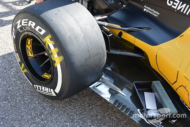 Tech update: De vloer van de Renault RS16