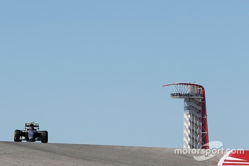 Rosberg topt tweede vrije training, Verstappen vijfde