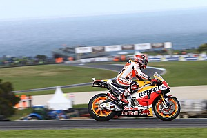 MotoGP Reporte de calificación Un Márquez insaciable se lleva su séptima pole en Australia