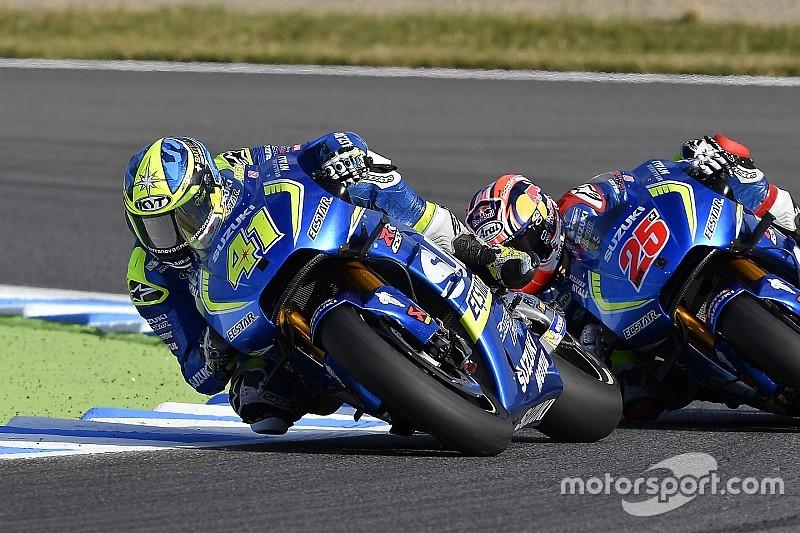 Suzuki offert technisch voordeel graag op voor vierde podiumplaats
