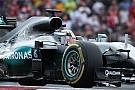 Hamilton empieza mandando en México
