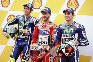 MotoGP Kwalificatieverslag Dovizioso pakt de pole voor GP Maleisië in natte kwalificatie