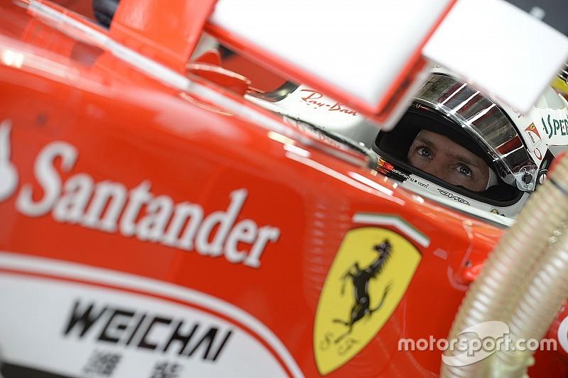 """Vettel terminó """"enojado"""" tras la clasificación"""
