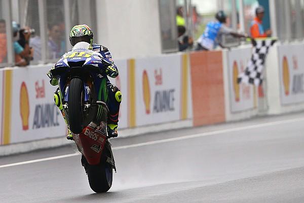 Valentino Rossi: Nach Reifenproblem vorn rechts lieber Vize-Titel gesichert