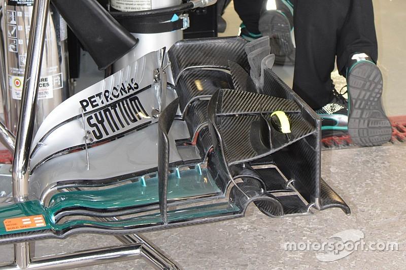 Technique - Mercedes continue de préparer 2017