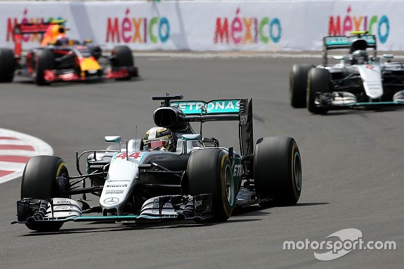 """Hamilton: """"No saqué ventaja. De hecho tenía un plano en el neumático"""""""