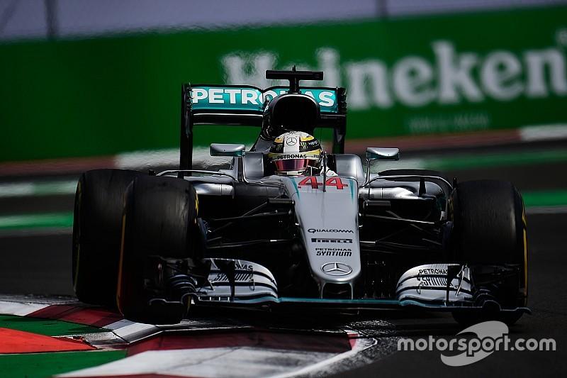 В Mercedes вирішили ризикнути з підвіскою Хемілтона в Мексиці