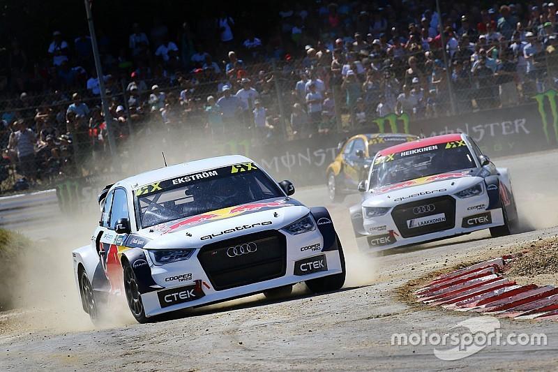 Ekström verlangt fabrieksondersteuning bij rallycross-avontuur