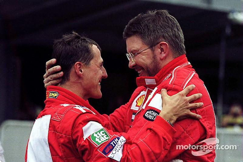 "Schumacher muestra ""signos esperanzadores"", según Brawn"
