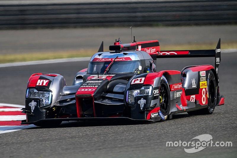 Audi lidera en la práctica final en China