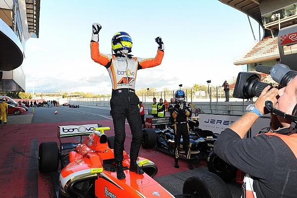 Dillmann celebra su título de Formula V8 3.5 regresando al WEC