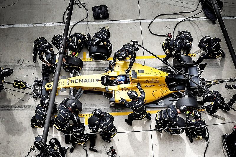 雷诺:加宽版轮胎要求冬歇期勤练进站