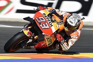 MotoGP Отчет о тренировке Маркес выиграл субботнюю тренировку в Валенсии