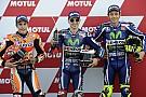 Startopstelling voor de Grand Prix van Valencia