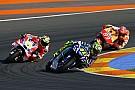 Rossi naast het podium in GP Valencia: