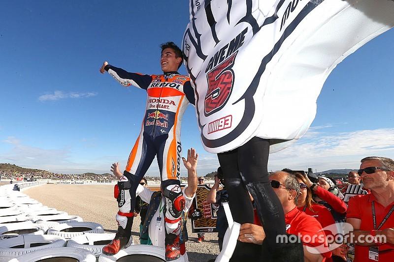 Slechte start breekt Marquez op in Grand Prix van Valencia