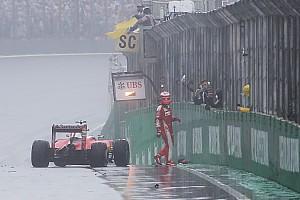 Formule 1 Réactions Räikkönen - Plus d'aquaplaning qu'avant avec ces pneus pluie