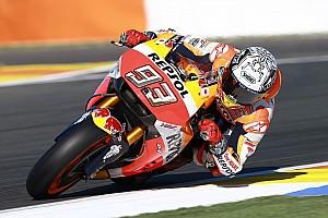 MotoGP Test Test Valencia, Day 2, Ore 13: le due Honda davanti dopo la bandiera rossa