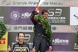 F3 Reporte de la carrera GP de Macao: Da Costa gana la clasificatoria y Juncadella es 7º