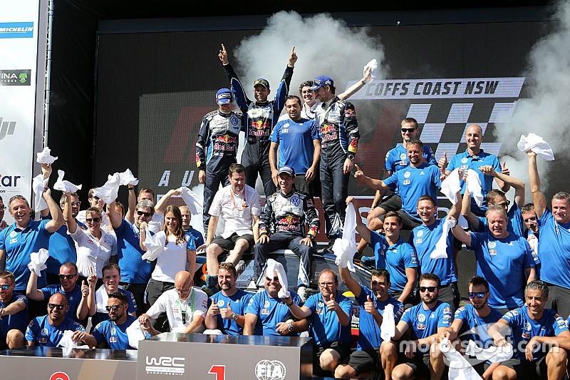 Championnats - Neuville en dauphin, les deux équipes VW sur le podium