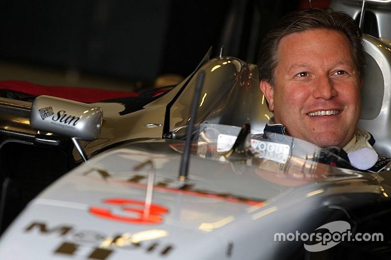 McLaren confirms Zak Brown as new executive director