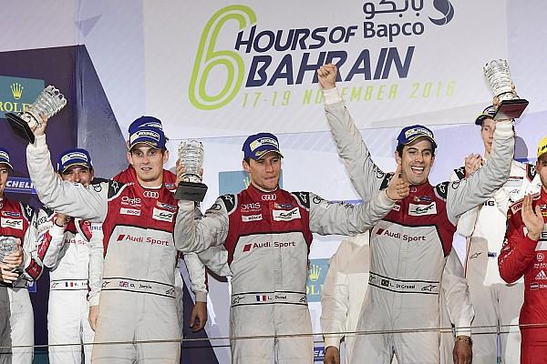 دبليو إي سي: وداع أودي الأخير بثنائية الانتصار في البحرين