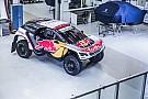 Peugeot presenta la decoración con la que irá al Dakar 2017