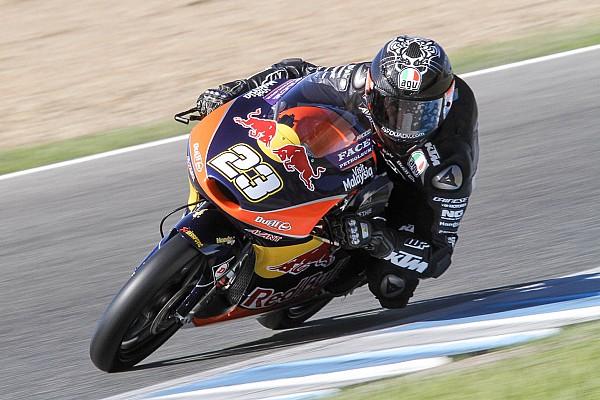 Moto2 Noticias de última hora Bagnaia y Antonelli dominan el test de Moto2 y Moto3 en Cheste