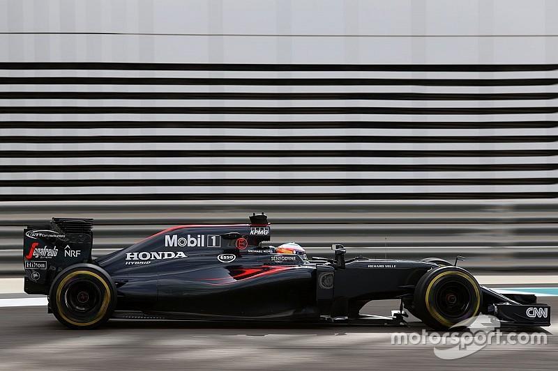 McLaren n'aura pas de sponsor titre avant 2018
