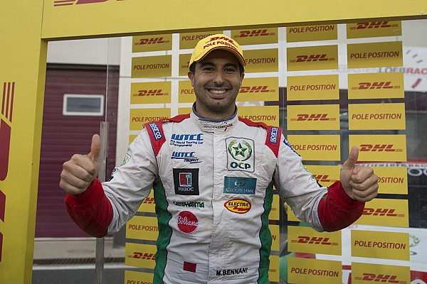 Katar WTCC: Bennani sezon finalinde pole pozisyonunda
