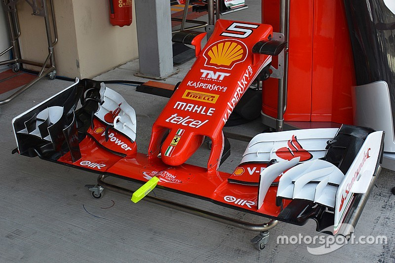 技术短文:法拉利车队测试SF16-H赛车