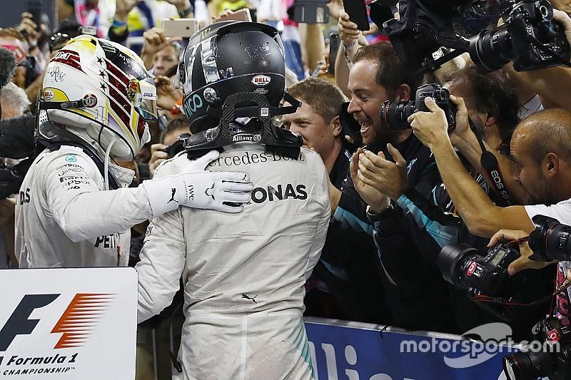 Eindstand WK Formule 1 2016: Rosberg kampioen met 5 punten marge, Verstappen vijfde