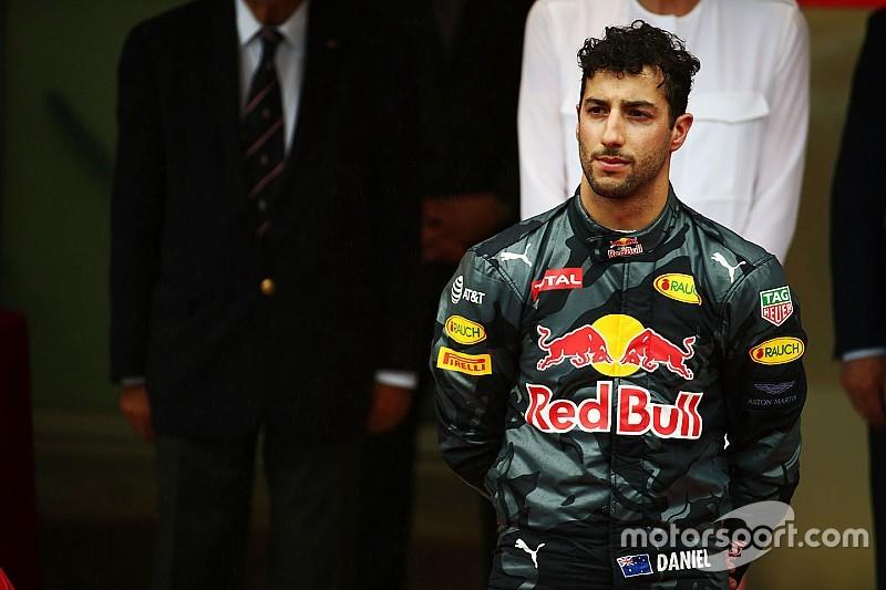 """ريكاردو مستذكراً سباق موناكو: """"دعوني في مساحتي الخاصة"""""""