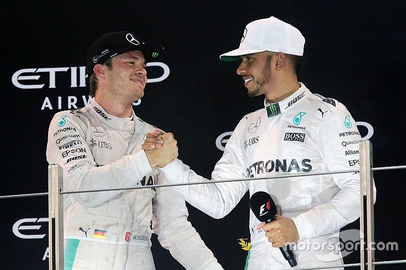 Hamilton felicita a Rosberg por su título