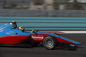 GP3 Test Test Abu Dhabi, Day 2: bella zampata di Alessio Lorandi