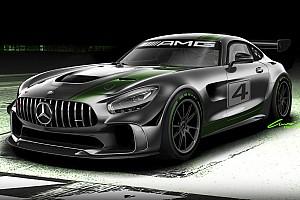 GT Nieuws Mercedes-AMG ontwikkelt GT4