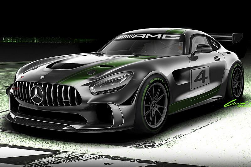 Mercedes-AMG ontwikkelt GT4
