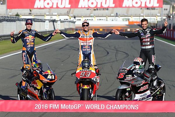 MotoGP Top List Galería: Los campeones del deporte de motor en 2016