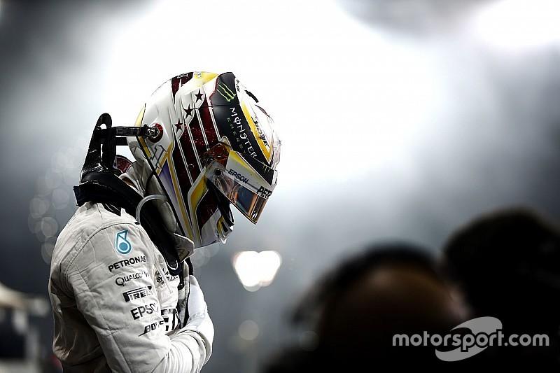 "Hamilton: ""Aprendi muito sobre mim neste ano"""