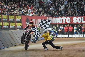 Other bike Race report Marquez menangi titel kedua Superprestigio Dirt Track