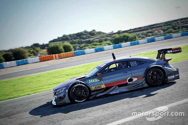 Ook DTM line-up Mercedes pas in 2017 bekendgemaakt