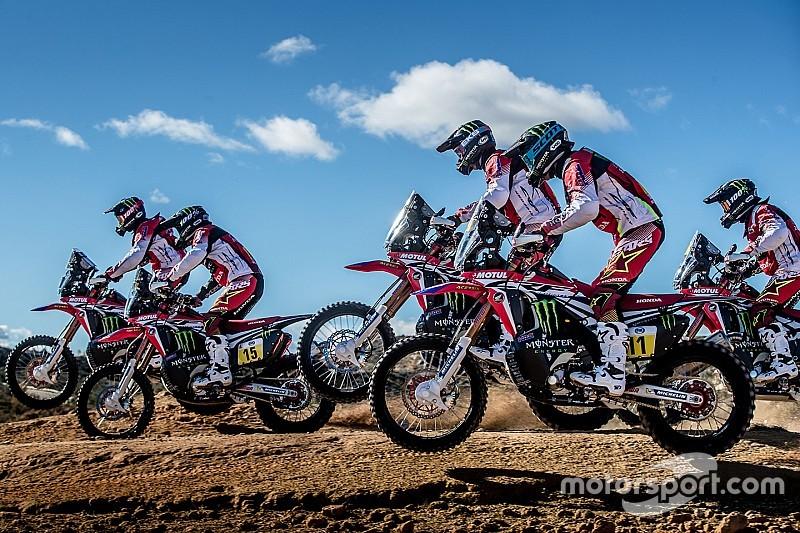 Honda, con el único objetivo de ganar el Dakar