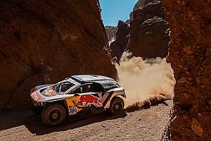 Dakar Entrevista Sainz contento con el resultado de la etapa