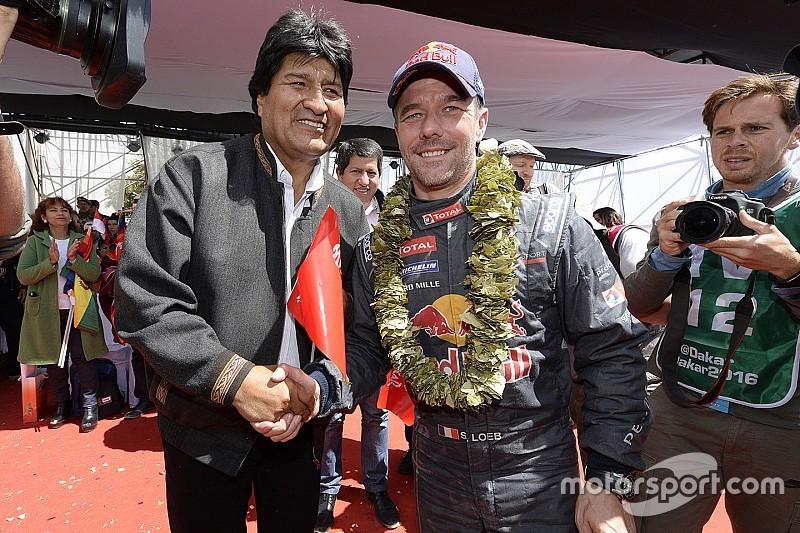 Evo Morales cambia la velocidad máxima en Bolivia por el Dakar