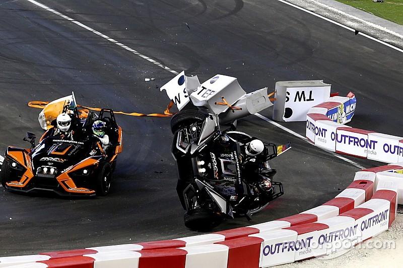 Wehrlein alami kecelakaan besar di Race Of Champions