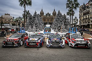 WRC News Sebastien Ogier: Rallye Monte Carlo kein Maßstab für WRC 2017