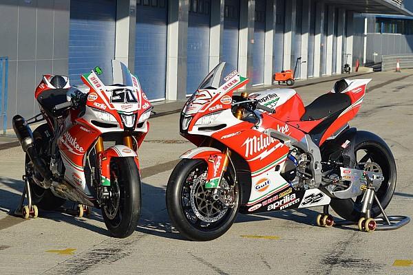 Aprilia stellt Motorrad für Superbike-WM 2017 vor