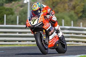 WSBK Test Test Portimao, Day 1: Ducati in vetta con Davies, ma Aprilia sorprende!